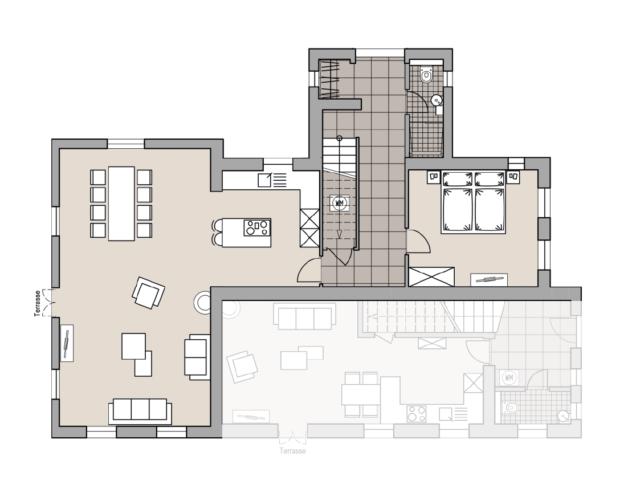 Villa Forstblick | Grundriss EG